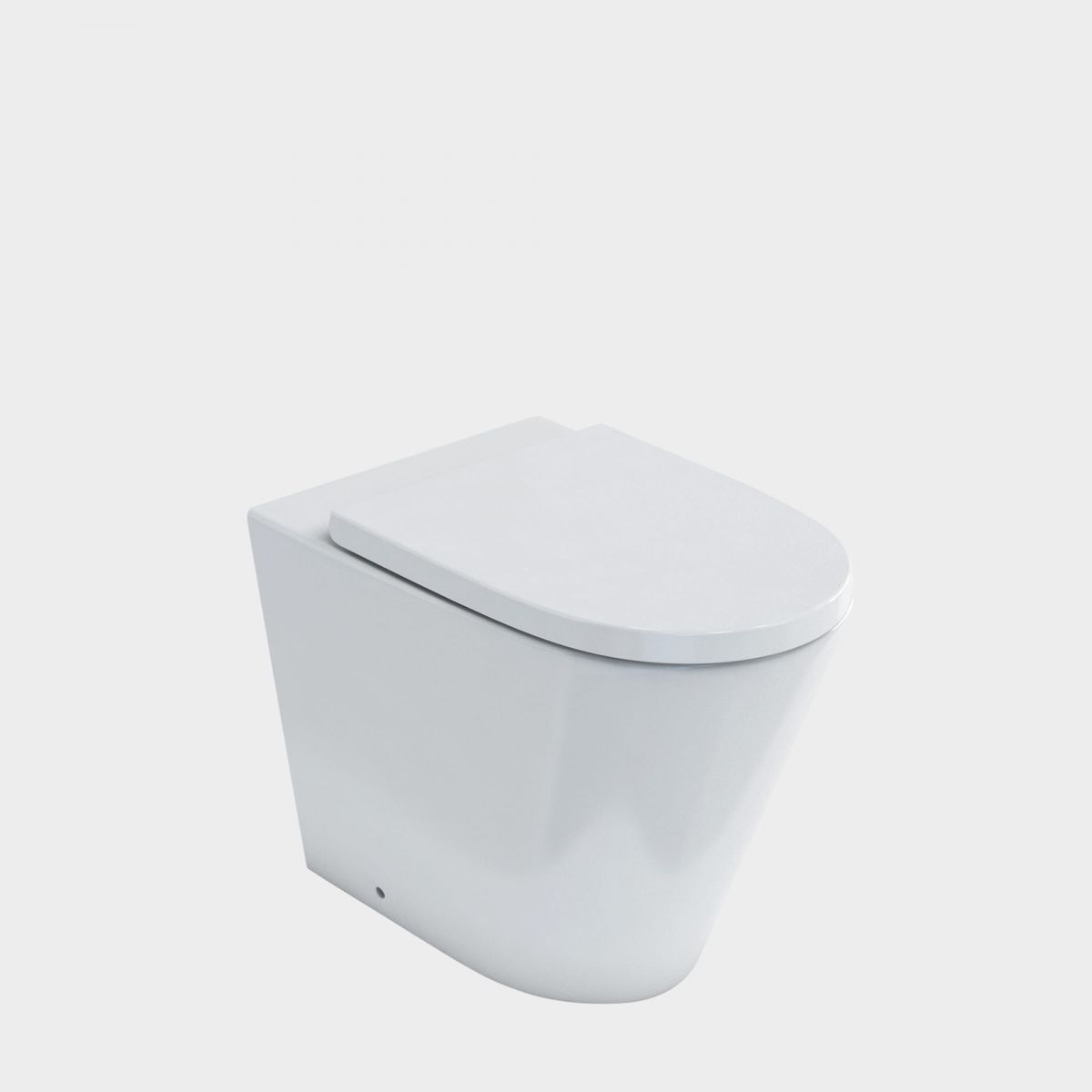 Sphere Easy Height Rimless BTW Toilet Suite
