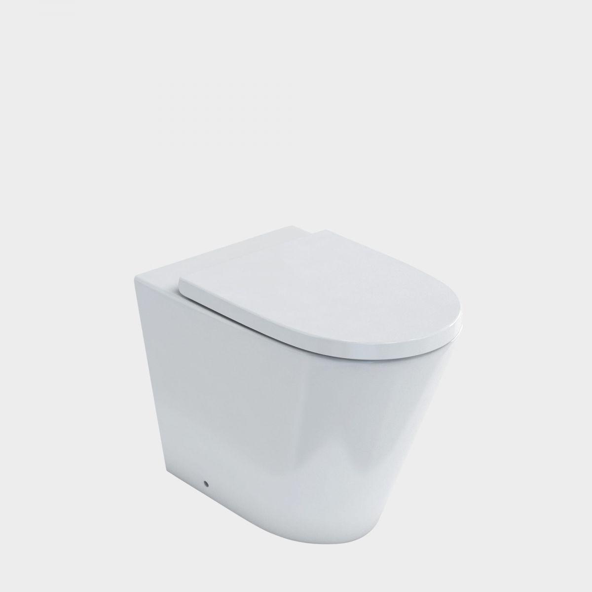 Sphere Easy Height Rimless BTW Toilet Suite