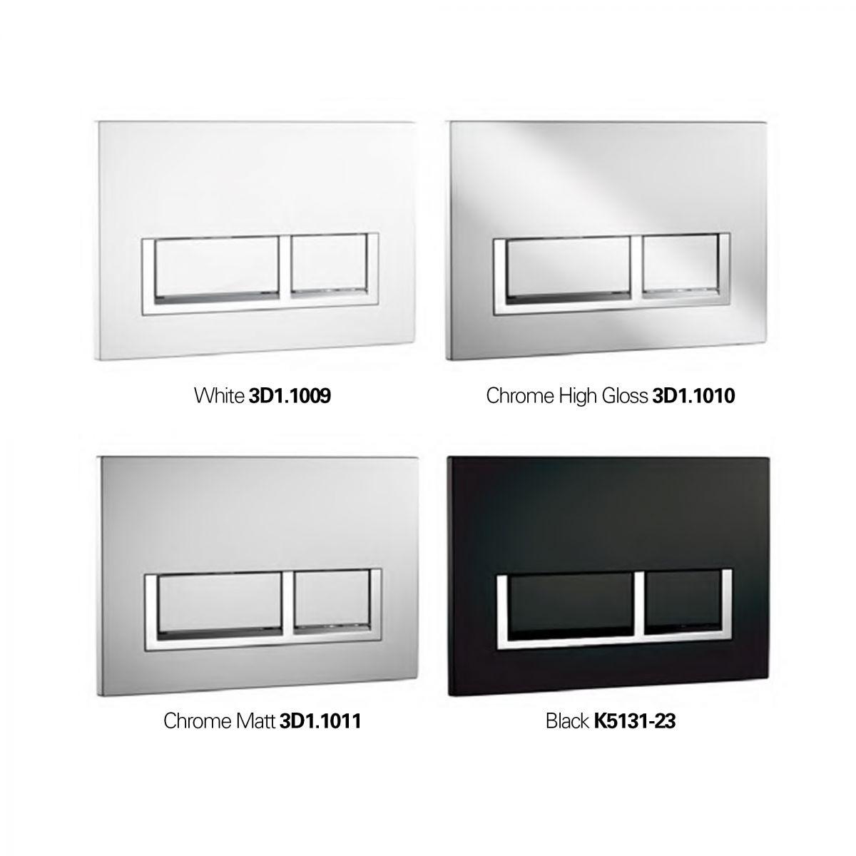 K5131 Flush Plate - Rectangle Option