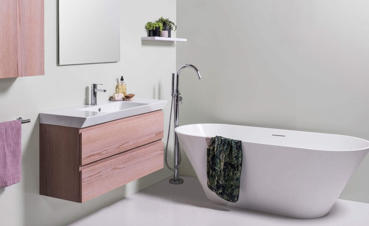 Sonit Natural Stone Freestanding Bath