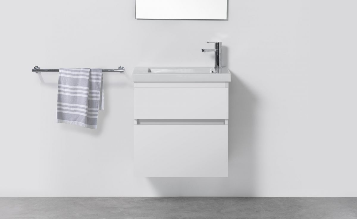 Cangas Slim 600 Wall-Hung Vanity 2 Drawers