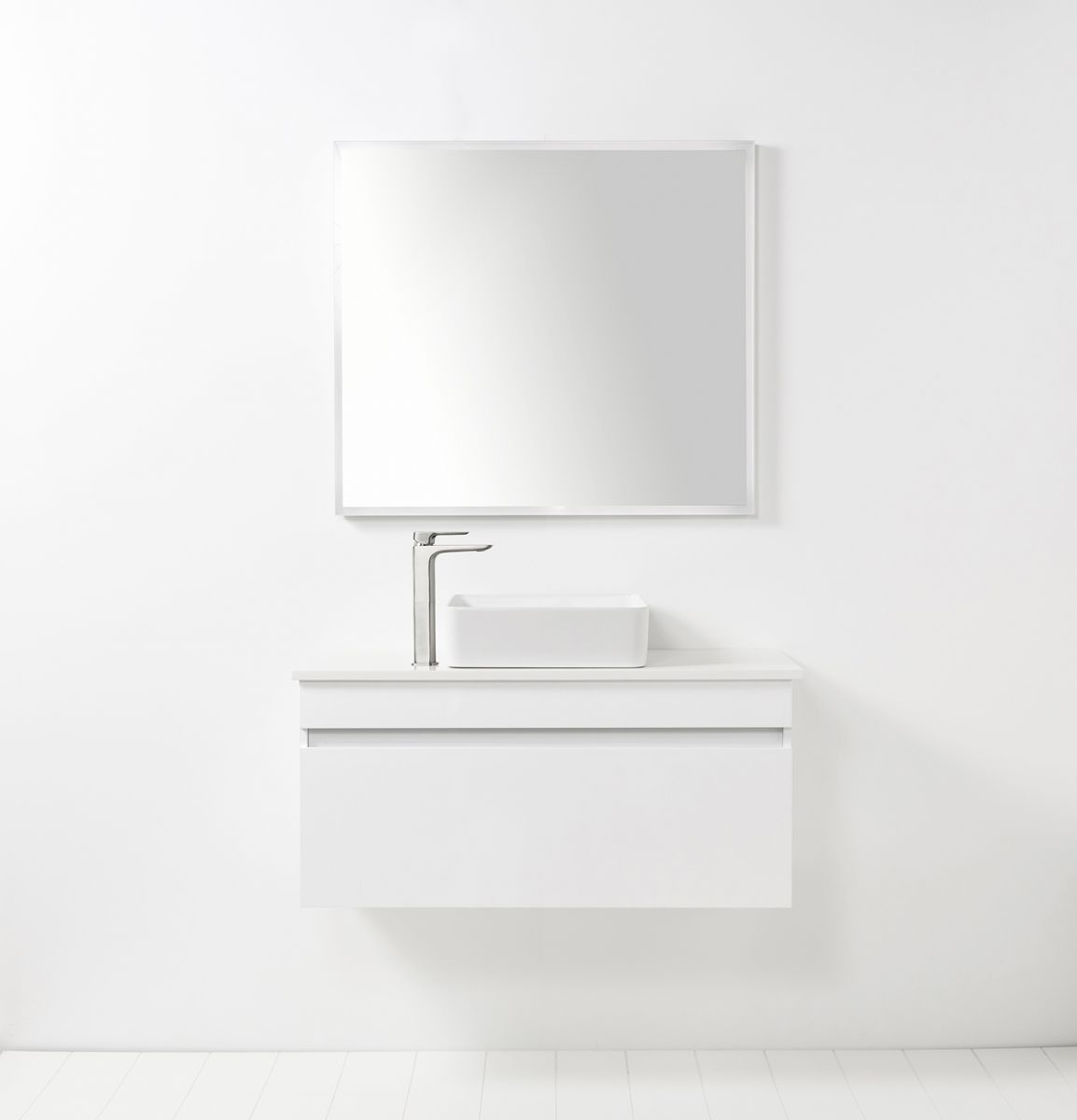 LED Light Mirror Rectangle 900 x 800