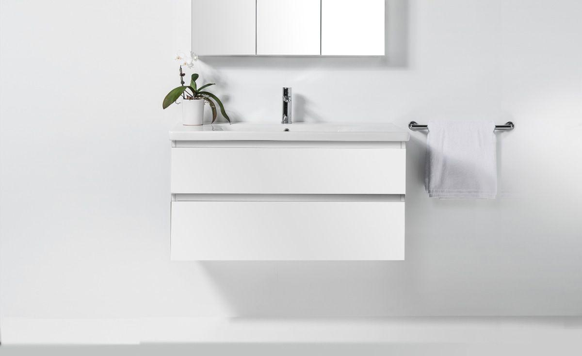 Soft 1000 Wall-Hung Vanity 2 Drawers