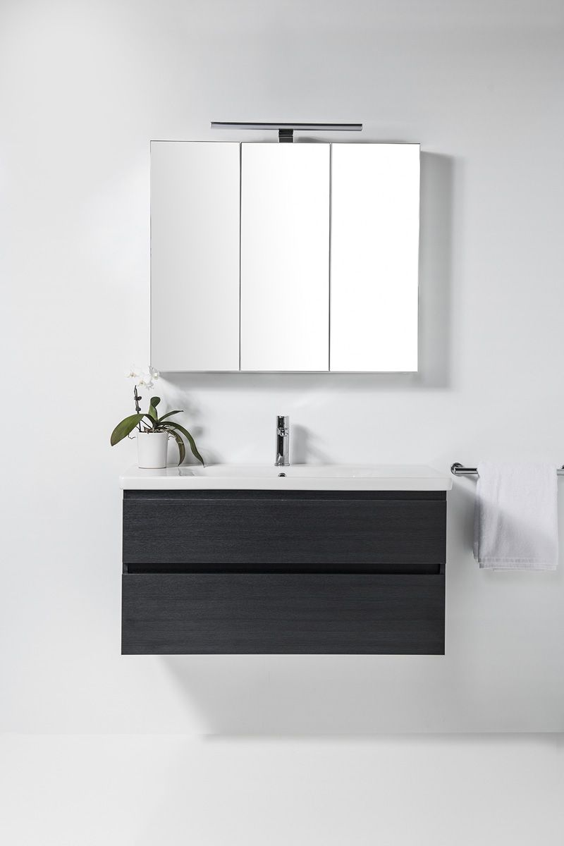Soft Vanity - 1000mm, wall-hung, 2 drawers