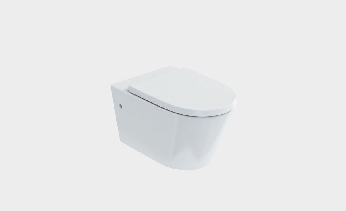 Sphere Easy Height Rimless Wall-Hung Toilet Suite with In-Wall Cistern