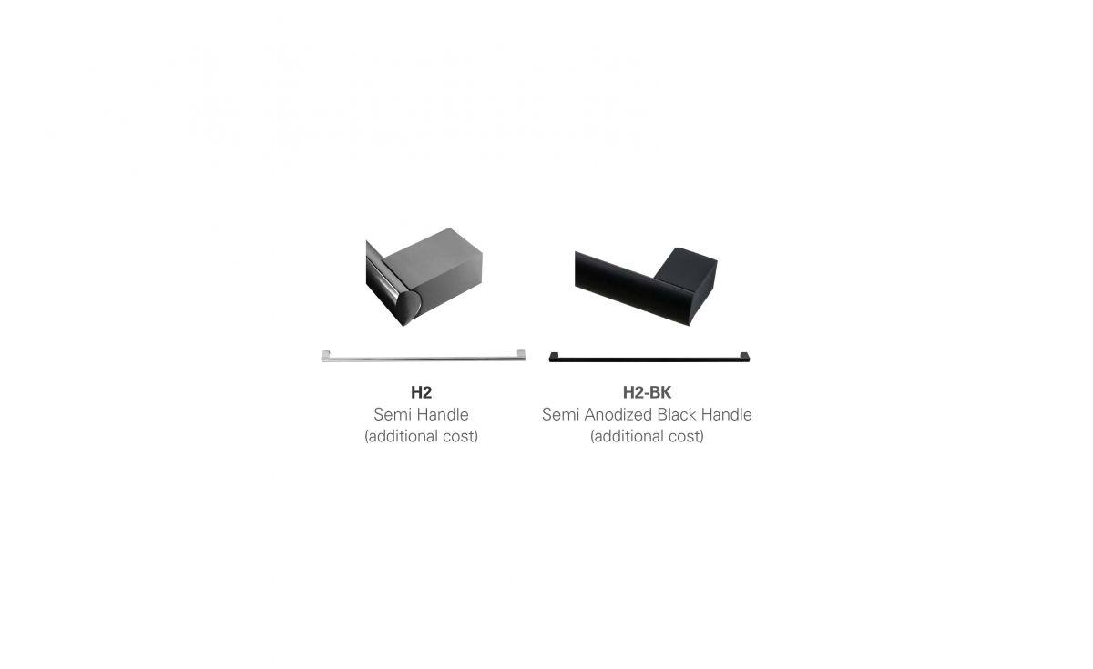 Soft 800 Wall-Hung Vanity 1 Drawer & Open Shelf