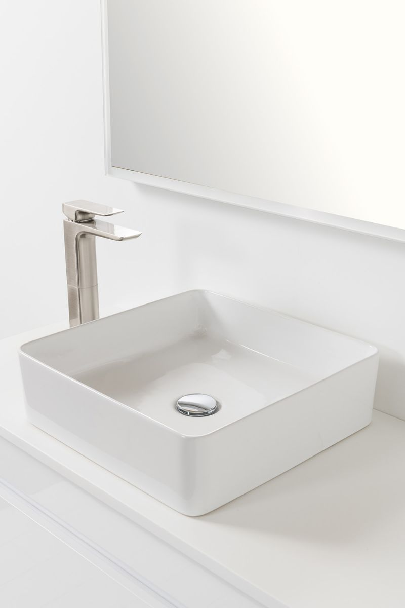 Soft Solid Surface 900 Wall-Hung Vanity 1 Drawer