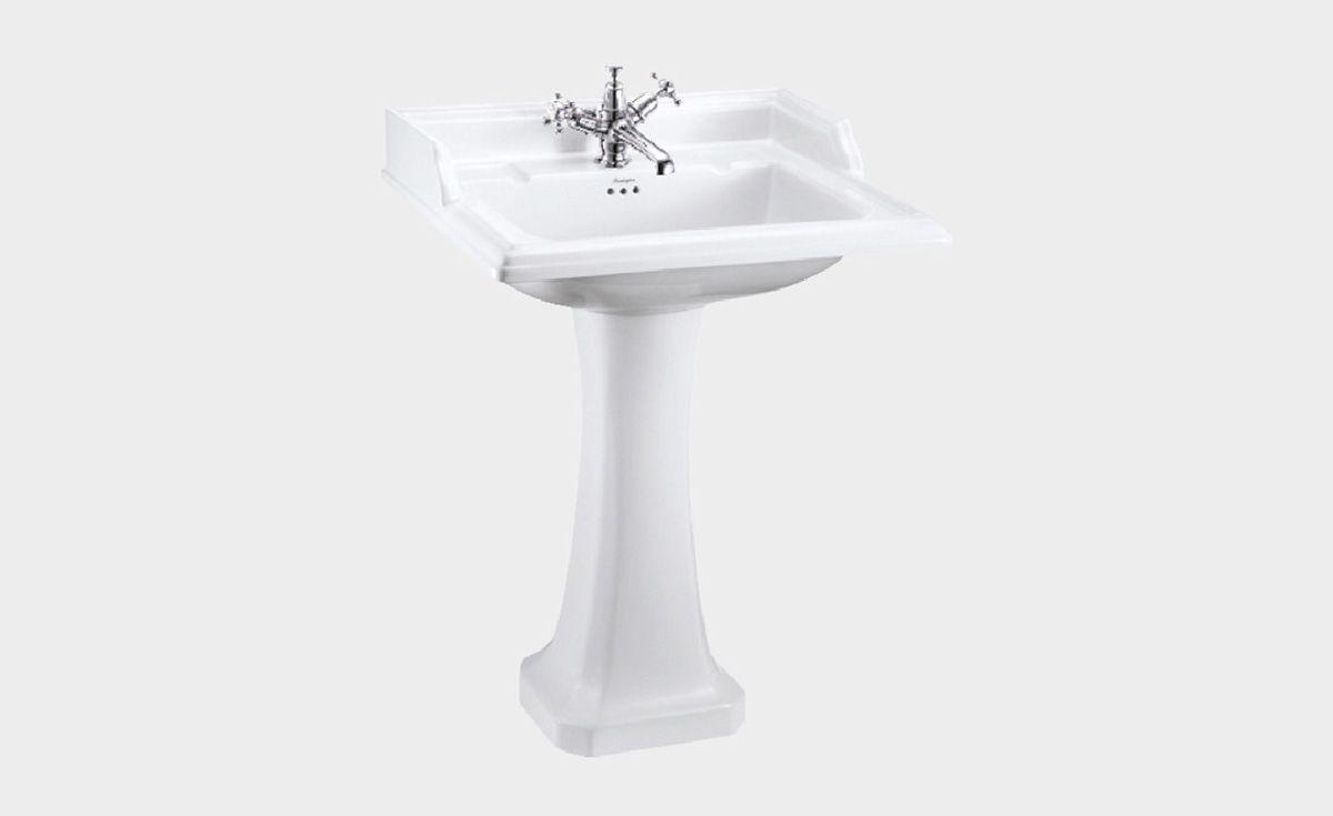 Classic Rectangle 650 Basin & Pedestal